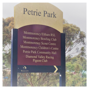 I hear Petrie Park Montmorency